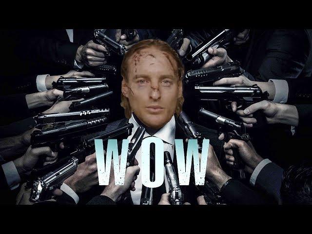 John Wick But Every Gunshot Is Owen Wilson Saying Wow