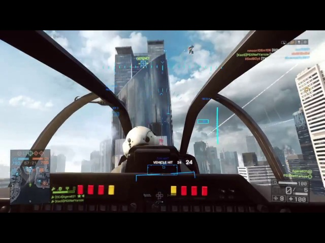 BF4 Attack Heli | 178 Kills Combined | Agera and PSX