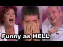 I BET YOU WILL LAUGH... Top 6 FUNNY When Judges CAN'T STOP LAUGHING HILARIOUS LMAO Auditions