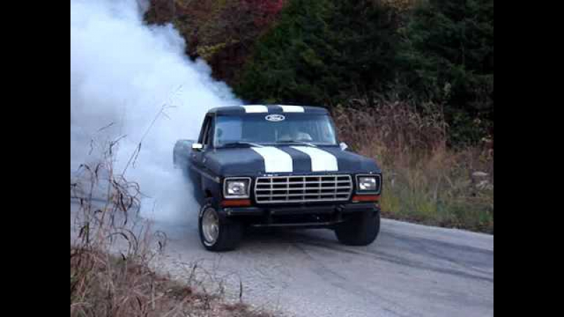 1979 ford f150 badass burnout 460 posi
