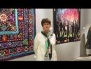 Татьяна Самсонова рассказывает о произведениях победителей и призеров фестиваля Open European Quilt Championships.