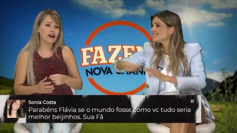 Flávia fala sobre seu casamento com Marcelo Ié Ié