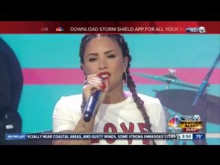 [HD]  Деми Ловато \ Demi Lovato - Sorry Not Sorry Live  05  10 2017телешоу «Today» в Нью-Йорке, США