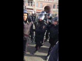 Задержание случайного человека. 26.03.2017