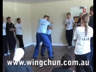 Австралийская Академия Вин Чунь. Приложение силы.