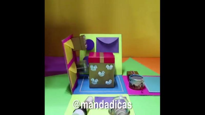 Cамая крутая коробочка для подарка своими руками!