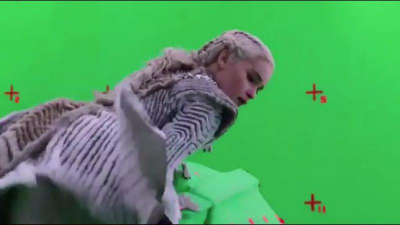Como as cenas com os dragões parecem tão reais