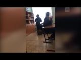 Учительница побила школьника на уроке