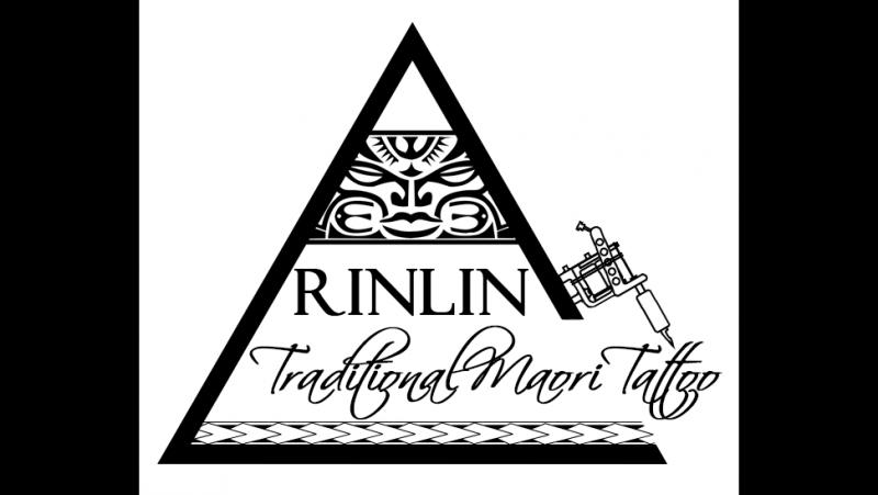 Процесс нанесения татау RINLINE