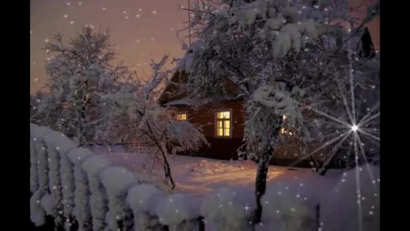 Смотришь в окно, и кажется, будто снежинки летят не вниз, а вверх.