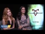 Kat McNamara &  Emeraude Toubia on the closeness of the  Shadowhunters  Cast!