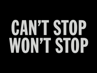 Can't stop, won't stop: a bad boy story [russian subtitles]