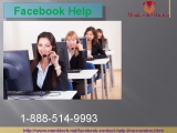 Facebook Help official Page to Flush Away your Facebook problem 1-888-514-9993