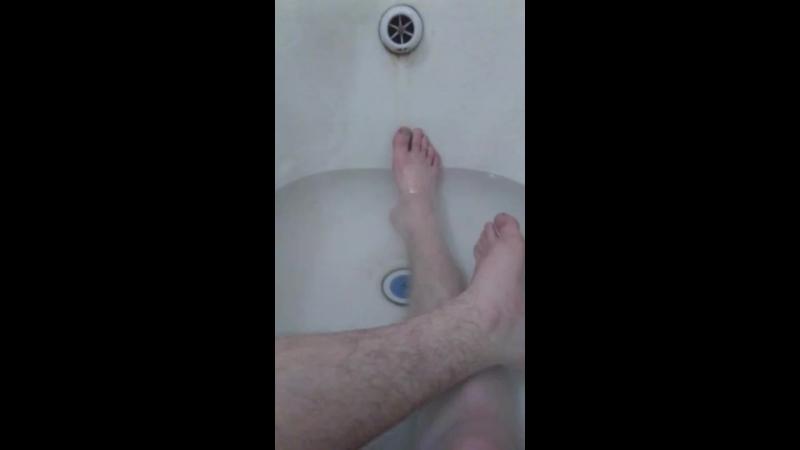 Одмен в ванной