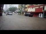 Масштабные затопления после сильных дождей в Панаме (Панама, 26.11.2017)