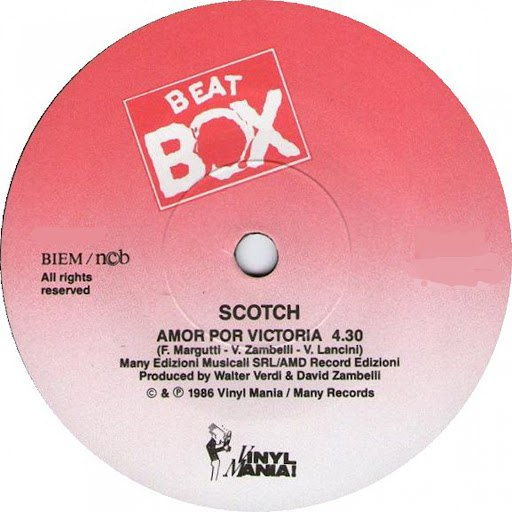 Scotch альбом Amor Por Victoria (Disco Mix)