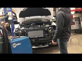 постройка Jeep SRT Turbo (9 серия).Первый холодный пуск