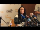 Demi's press conference in Rabat, Morocco (May 19)