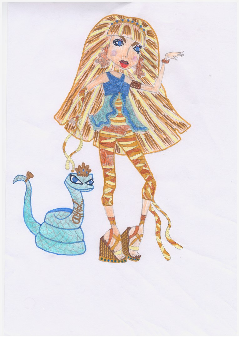 Конкурс рисунков Магия кукол Клео де Нил