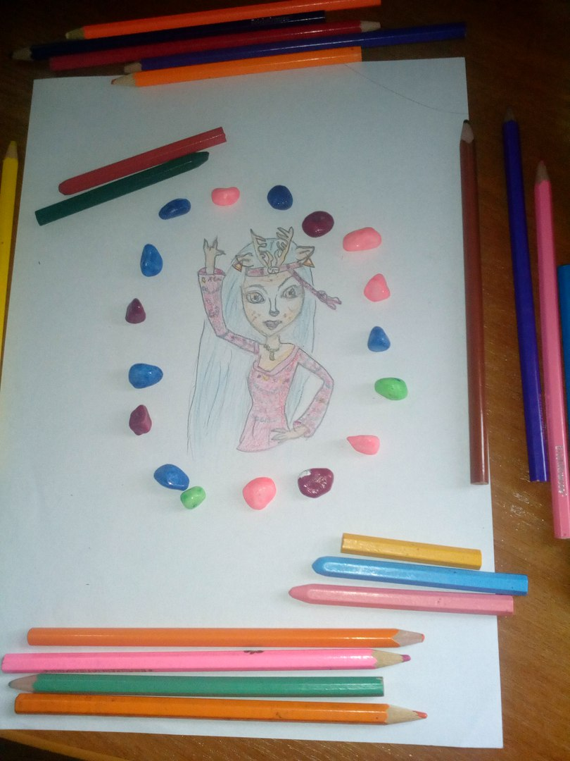 Конкурс рисунков Магия кукол Иси Дауденсер