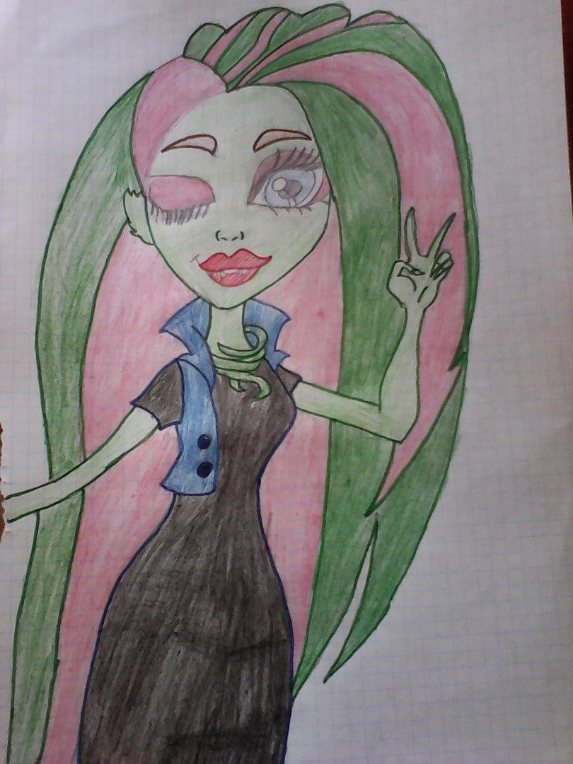 Конкурс рисунков Магия кукол Венера Макфлайтрап