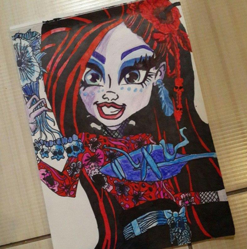 Конкурс рисунков магия кукол Джейн