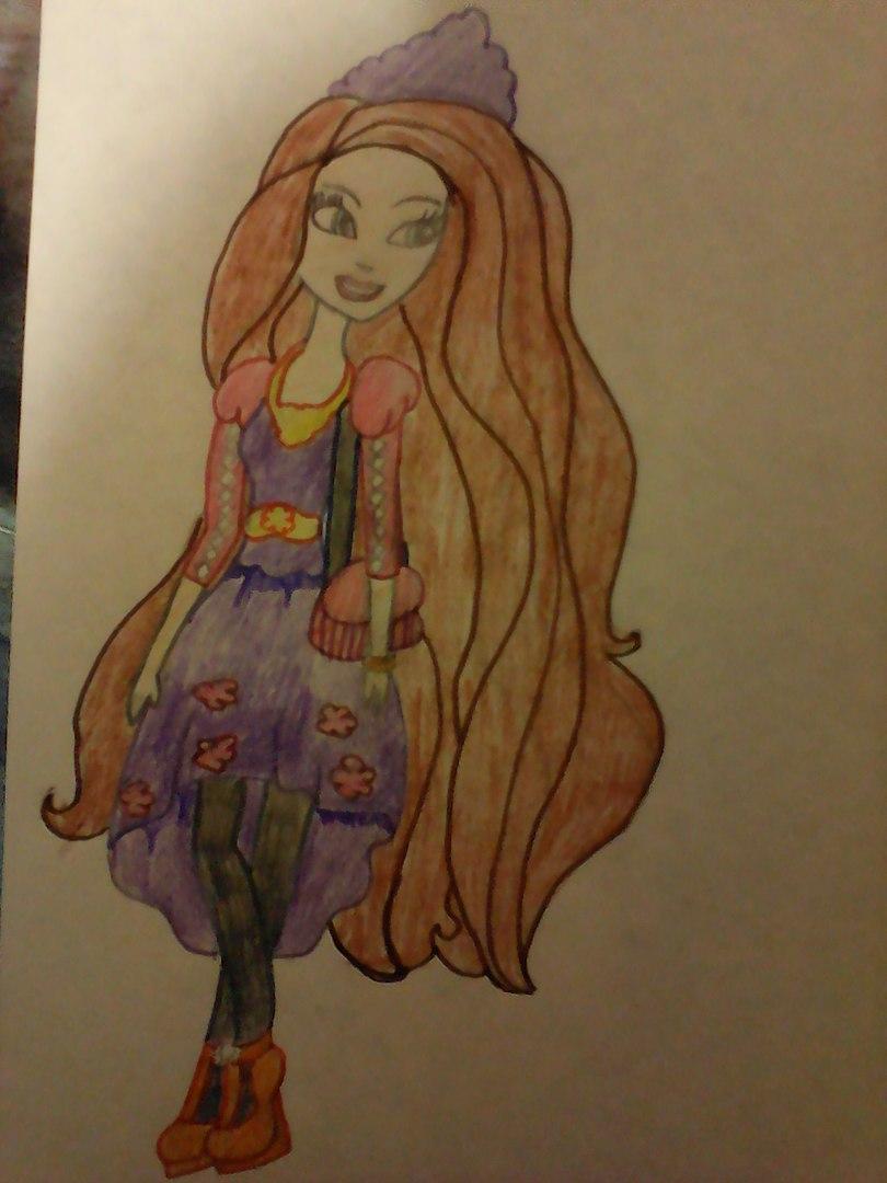 Конкурс рисунков магия кукол Холли охэйр