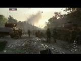 Сравнение графики Call of Duty: WWII на Xbox One, PS4 Pro и Xbox One X.