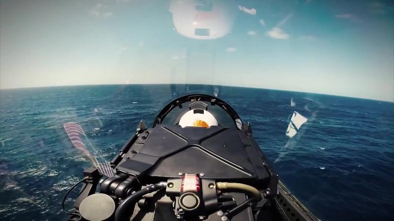 2014 F-18 Navy Hornet Ball Video