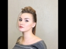 Прически для Лики - стилист Ольга Карзан