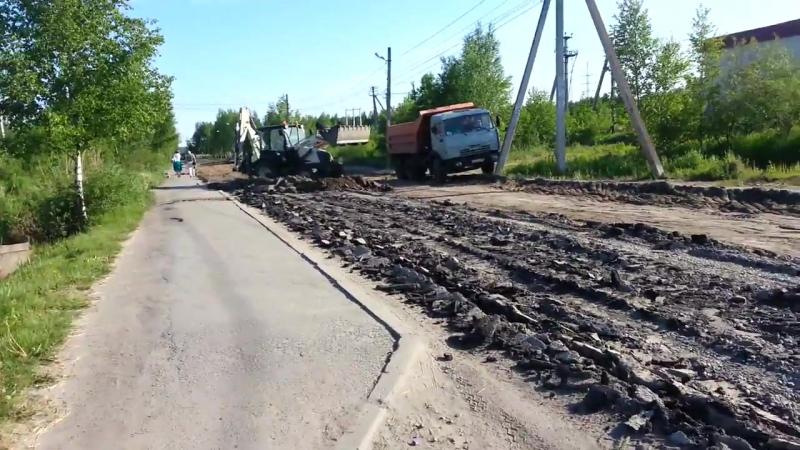 После слов В.В.Путина в г. Всеволожск ожили дороги 16.06.2017