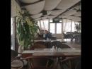 Завтрак в ресторане над морем САНТА БАРБАРА Крым Алушта Утес