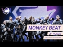 VOLGA CHAMP 2017 VIII   BEST HIP-HOP SHOW    3rd place   MONKEY BEAT