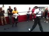 Хуан Мануэль Маркес - тренировка Winning