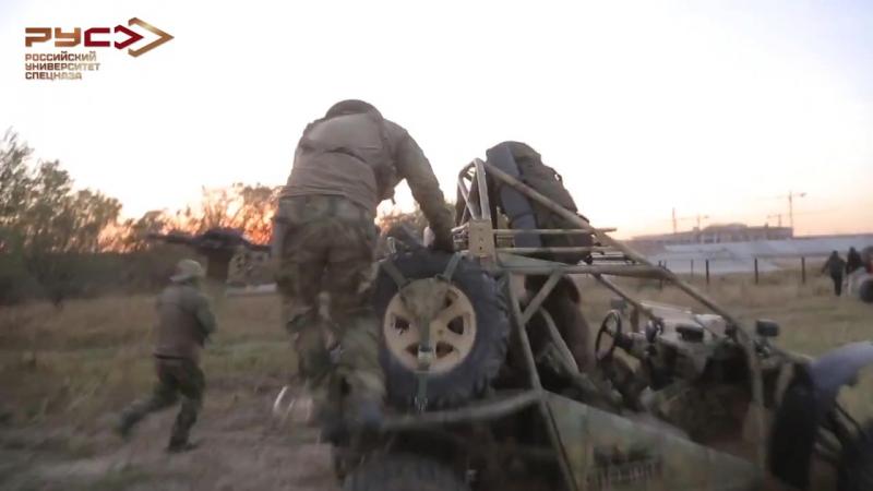 Эвакуация на вертолёте под прикрытием Багги Чаборз М-3 RUSPETSNAZ Спецназ РУС