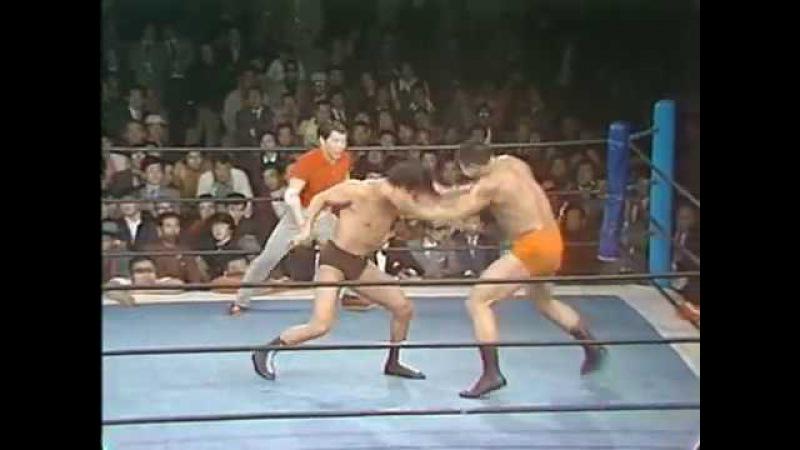Antonio Inoki vs Seiji Sakaguchi 4/26/74