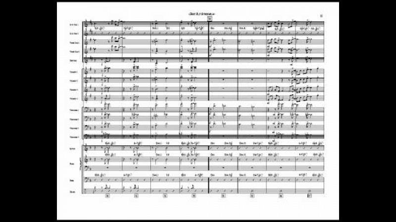 Dear Old Stockholm Big Band Chart arranged by Jim Martin