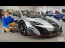 My Friend's New McLaren MSO R! | FIRST LOOK