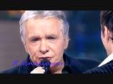 Дуэт Грегори Лемаршаль и Мишель Сарду исполняет песню