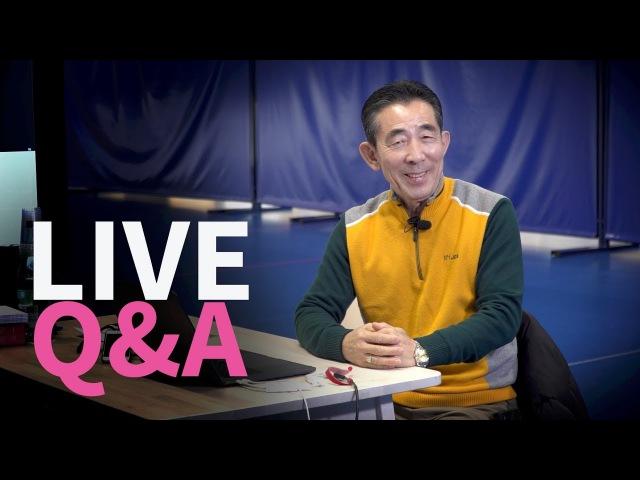 Live QA with Coach Kim Hyung Tak