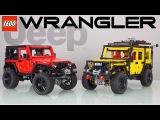 LEGO Technic JEEP Wrangler Review + my MODs preview with Madoka (TURN ON SUBS)