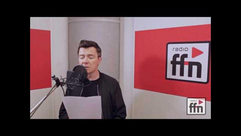 Rick Astley - Live Karaoke bei ffn