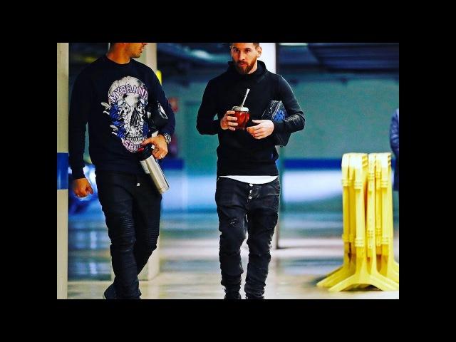 Suarez planted Lionel Messi on Mate's drink/Суарес подсадил Лионеля Месси на напиток Мате