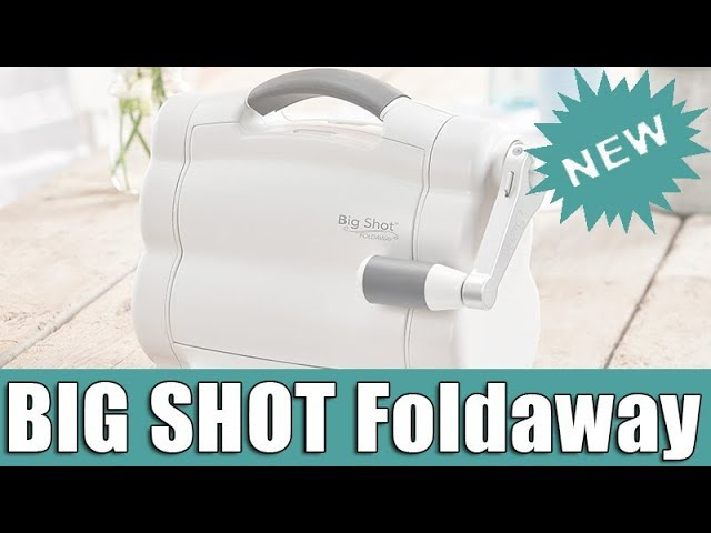 Unboxing the NEW Big Shot Foldaway by Sizzix