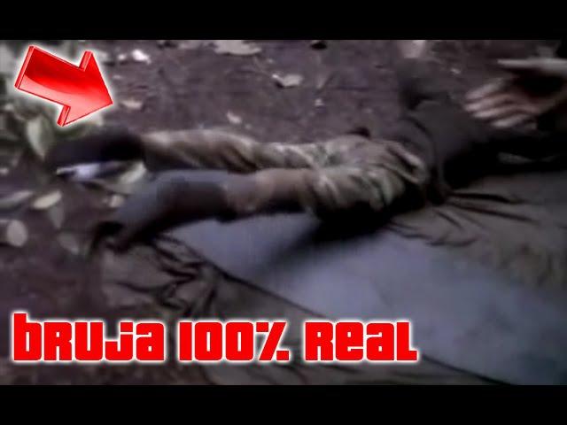 Bruja REAL Ataca a soldado en colombia 2014 extraterrestre o demonio ?