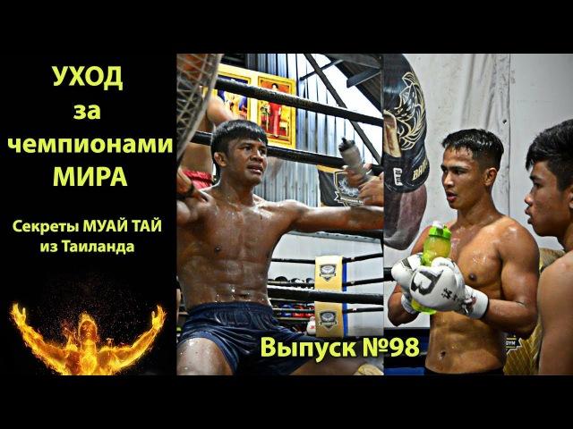 Как ухаживают за Чемпионами! Секреты техники Муай Тай из Таиланда! rfr e[f;bdf.n pf xtvgbjyfvb! ctrhtns nt[ybrb vefq nfq bp nfbk