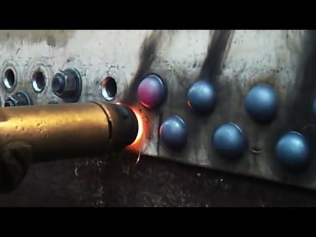 Горячие заклёпки вместо сварки ujhzxbt pfrk`grb dvtcnj cdfhrb