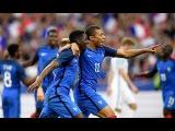 Ousmane Dembele & Kylian Mbappe vs Angleterre (GOALS & SKILLS | 2017 1080HD)