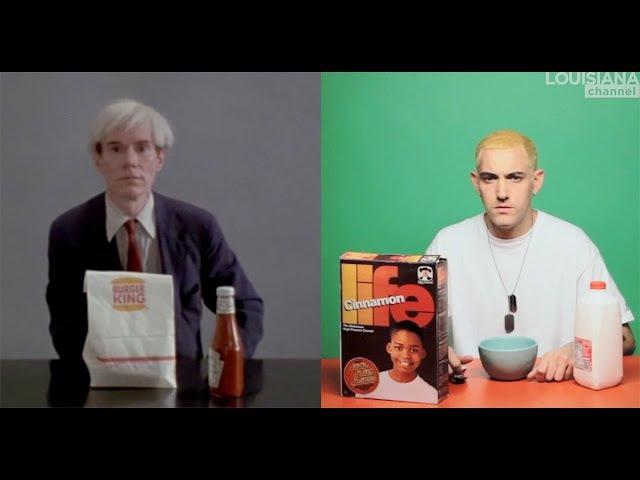 Alex Da Corte Jørgen Leth: Eminem and Warhol