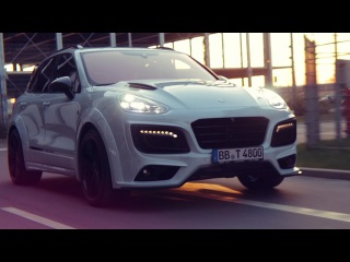 """The TECHART Magnum »Sport« Edition """"30 years"""" based on the Porsche Cayenne"""